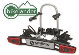 Rear-mounted cycle carrier BC 70 – for 2 bicycles