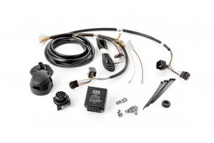 Elektrosatz mit elektronischer Blinkkontrolle